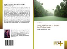 Couverture de Understanding the 12 secrets for effective prayer
