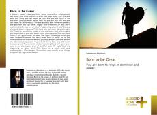 Bookcover of Born to be Great