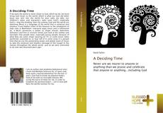Bookcover of A Deciding Time
