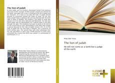Capa do livro de The lion of judah