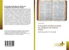 Portada del libro de El Evangelio de Marcos desde las categorías del Análisis Crítico