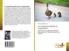 Portada del libro de Le Leadership efficace et responsable