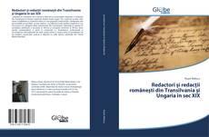 Borítókép a  Redactori și redacții românești din Transilvania și Ungaria în sec XIX - hoz