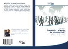 Обложка Emigrācija - atbalsts tautsaimniecībai?
