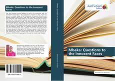 Bookcover of Mbaka: Questions to the Innocent Faces