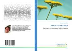 Обложка Essai sur la santé