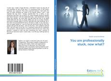Bookcover of You are professionally stuck, now what?