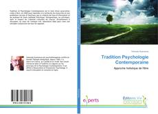 Bookcover of Tradition Psychologie Contemporaine
