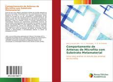 Capa do livro de Comportamento de Antenas de Microfita com Substrato Metamaterial