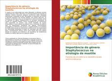 Buchcover von Importância do gênero Staphylococcus na etiologia da mastite