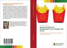 Capa do livro de Comunicação do McDonald's em Tempos de Crise