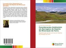 Capa do livro de Considerações Ambientais em Barragens de Rejeito de Mineração de Ferro