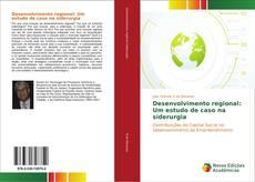 Capa do livro de Desenvolvimento regional: Um estudo de caso na siderurgia