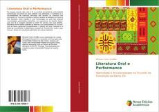 Literatura Oral e Performance kitap kapağı