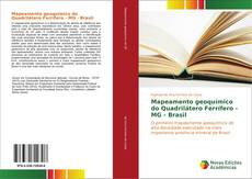 Capa do livro de Mapeamento geoquímico do Quadrilátero Ferrífero - MG - Brasil