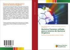 Обложка Química Forense voltada para o ensino de Química Orgânica