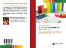 Capa do livro de O erro na regulação da aprendizagem