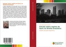 Capa do livro de Estudo sobre regime de bens no direito brasileiro