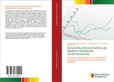 Portada del libro de Estudo Numérico-Analítico de Modelos Reológicos Unidimensionais