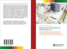 Capa do livro de Segurança do Trabalho na Construção Civil