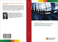 Capa do livro de Responsabilidade Social em Escritórios de Advocacia