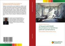 A Responsabilidade Enunciativa na Sentença Judicial Condenatória kitap kapağı