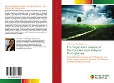 Portada del libro de Formação Continuada de Formadores com Saberes Profissionais