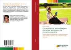 Copertina di Estratégias de aprendizagem: eficácia e autonomia na compreensão oral