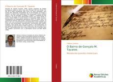 Portada del libro de O Bairro de Gonçalo M. Tavares