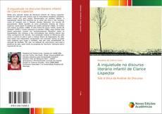 Capa do livro de A inquietude no discurso literário infantil de Clarice Lispector