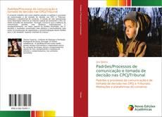Capa do livro de Padrões/Processos de comunicação e tomada de decisão nas CPCJ/Tribunal