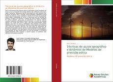 Portada del libro de Técnicas de ajuste geográfico e dinâmico de Modelos de previsão eólica