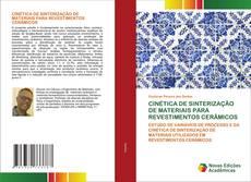 Portada del libro de CINÉTICA DE SINTERIZAÇÃO DE MATERIAIS PARA REVESTIMENTOS CERÂMICOS