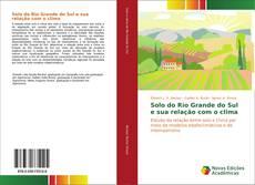 Portada del libro de Solo do Rio Grande do Sul e sua relação com o clima