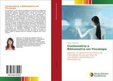 Buchcover von Cientometria e Bibliometria em Psicologia