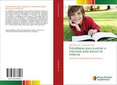 Capa do livro de Estratégias para suscitar o interesse pela leitura na infância