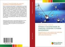 Bookcover of Síntese e Caracterização de materiais contendo a unidade bezotiadiazol