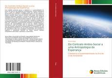 Copertina di Do Contrato Ambio-Social a uma Antropologia da Esperança