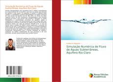 Bookcover of Simulação Numérica de Fluxo de Águas Subterrâneas, Aquífero Rio Claro