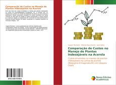 Buchcover von Comparação de Custos no Manejo de Plantas Indesejáveis na Acerola