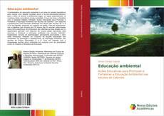 Portada del libro de Educação ambiental