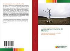 Capa do livro de Anisotropia em Antena de Microfita