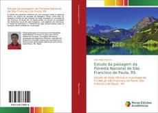 Capa do livro de Estudo da paisagem da Floresta Nacional de São Francisco de Paula, RS