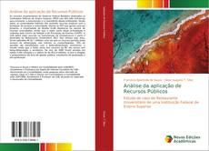 Couverture de Análise da aplicação de Recursos Públicos