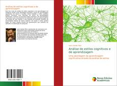 Capa do livro de Análise de estilos cognitivos e de aprendizagem