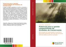 Capa do livro de Potencial para a gestão compartilhada de Unidades de Conservação