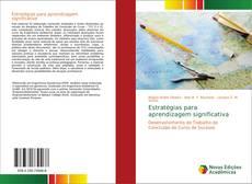 Bookcover of Estratégias para aprendizagem significativa