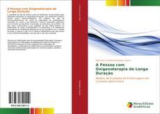Capa do livro de A Pessoa com Oxigenoterapia de Longa Duração