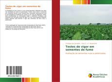 Capa do livro de Testes de vigor em sementes de fumo