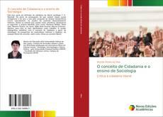 Bookcover of O conceito de Cidadania e o ensino de Sociologia
